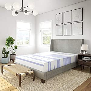 Vibe Gel Memory Foam 12-Inch Mattress | CertiPUR-US Certified | Bed-in-a-Box, Twin XL