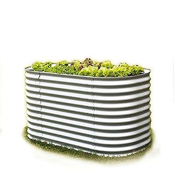 Gartenpirat Hochbeet Aus Metall Alu Zink Beschichtet 162 X 82 X 86