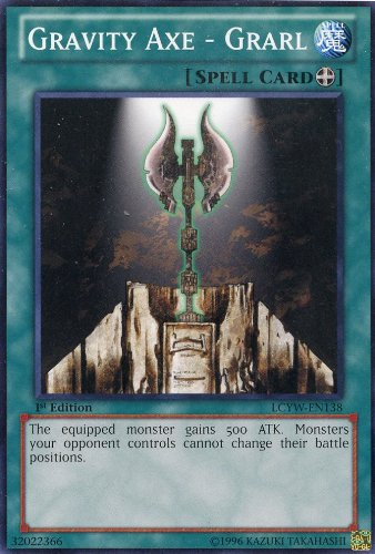 Yu-Gi-Oh! - Gravity Axe - Grarl (LCYW-EN138) - Legendary Collection 3: Yugis World - 1st Edition - Common