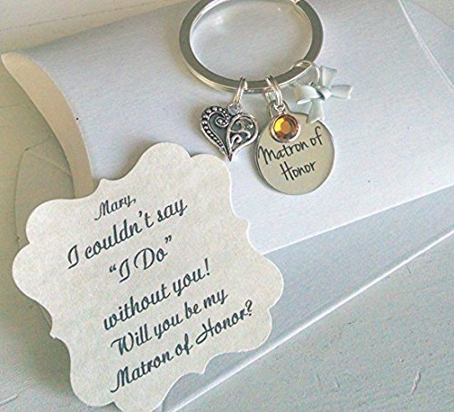 Amazoncom Matron Of Honor Gifts Bridesmaid Gifts Bridesmaid