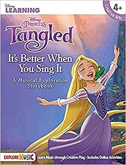 Tangled Story Book