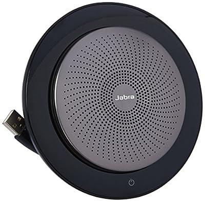 Jabra Speak Wireless Bluetooth Speaker & Speakerphone for Softphone and Mobile Phone - Android & Apple Compatible