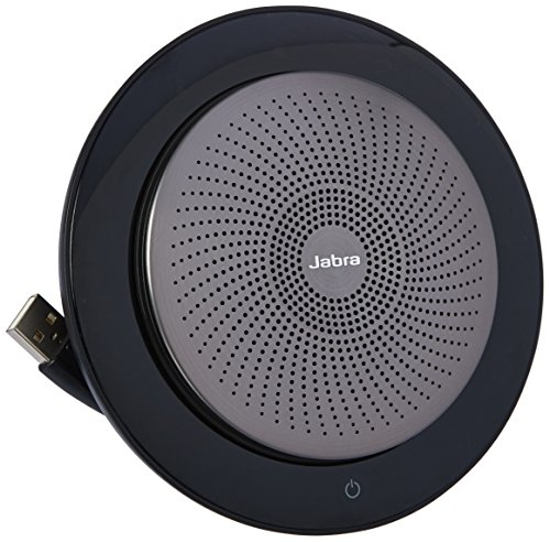 - Jabra Speak 710 UC Wireless Bluetooth Speaker & Speakerphone for Softphone and Mobile Phone - Android & Apple Compatible - UC Optimized