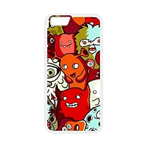 Generic for iPhone 6 Plus 5.5 Inch Cell Phone Case White Monsters Inc Custom HSKDKKALL2475