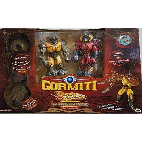 GORMITI - PLAYSET COMBAT+2 FIG ART 15CM