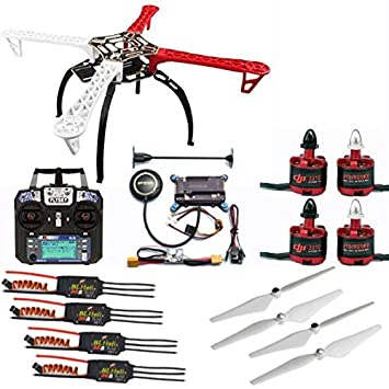 Amazon com: SYH01 50 Quadcopter Frame Drone Kit 2212 ESC
