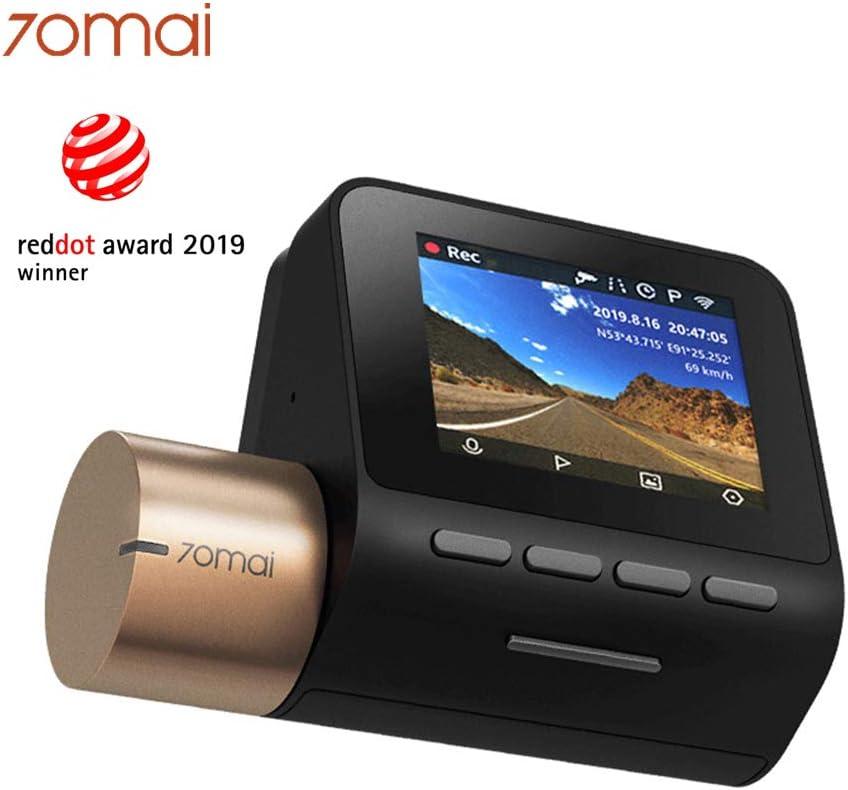70mai Dash Cam Lite 1080P Night Vision Dash Camera, Car Cam Recorder 24H Parking Monitor Car DVR, APP Control, Built-in WiFi, G-Sensor On-Dash Cameras
