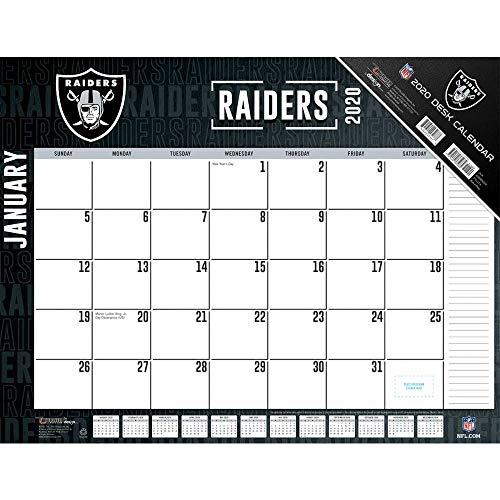 Raiders 2020 Calendar (Raiders Calendar)