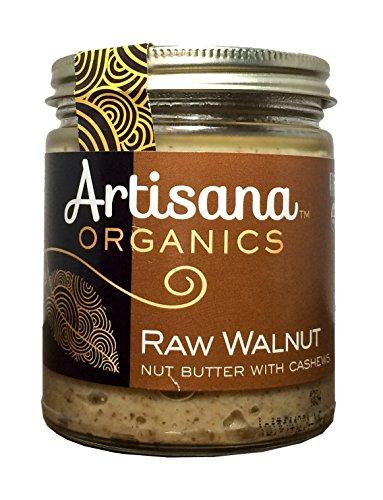 Artisana Organics - Walnut Nut Butter With Cashews, Two Ingredients Handmade Rich & Thick Spread, Us