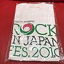 ROCK IN JAPAN FES 2010 オフィシャル Tシャツ Mサイズ ジブリ コラボ ロッキン the HIATUS MONGOL800 RADWIMPS