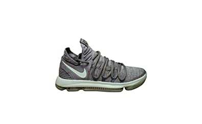 separation shoes 57891 07cbb Image Unavailable. Image not available for. Color  Nike Mens Zoom KD 10 X  Mens Basketball Sneakers New, Cool Grey Igloo White 897815