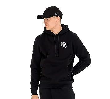 newest 6805f 84133 New Era Oakland Raiders Team Apparel Small Logo NFL Hoodie ...