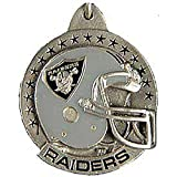 Pewter Metal Emblem Key Chain - National Football League NFL Teams - Oakland Raiders