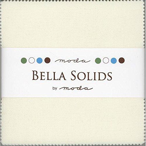 - Moda Bella Solids Porcelain 9900-182 Charm Pack 42 5