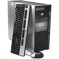 Refurbished - HP Z800 Workstation Desktop - 2x Intel Xeon Quad Core E5620 2.4GHz (8 Cores Total), 64GB DDR3 RAM, 480GB SSD (Solid State), WIFI, Quadro 400, Windows 7 Pro 64-bit (by RefurbTek)