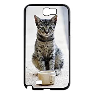 Custom Hard Plastic Back For Case Samsung Galaxy S5 Cover with Unique Design Small cat