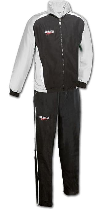 DragonSport – Chándal Chelsea, color plateado/negro, tamaño 128 ...