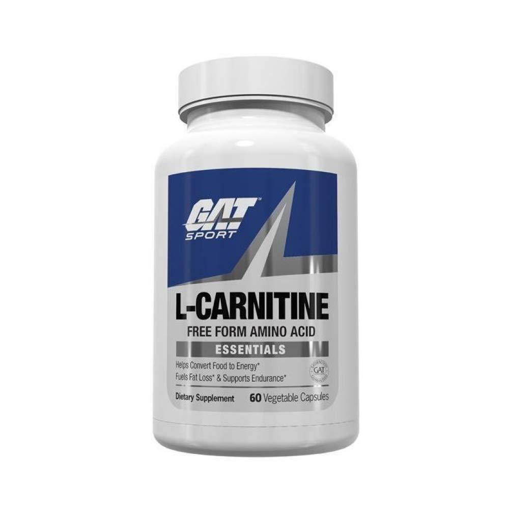 Gat Sport Essentials L-Carnitine 60 Vegetable Capsules by GAT Sport