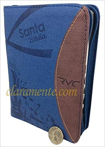 ... Reina-Valera Contemporanea (RVC), Imitacion Piel, Duotono Azul Y Vino Con Indice : Sociedad Biblica Colombiana: 9789587453096: Amazon.com: Books