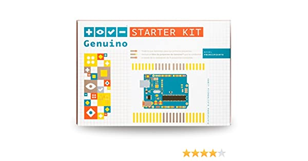 Genuino Starter Kit [Spanish] (Official Kit from Arduino.cc with 176-page Projects Book): Amazon.es: Electrónica