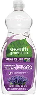 product image for Seventh Generation, Dishwash Liquid Detergent, Lavender, 25 oz