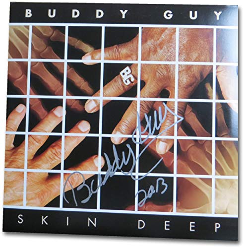 Buddy Guy Signed Autographed Album Cover Skin Deep JSA DD36011