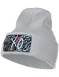 580be584771 XO The Weeknd Heart Unisex Woolen Hats Winter Knitting Wool Warm Hats