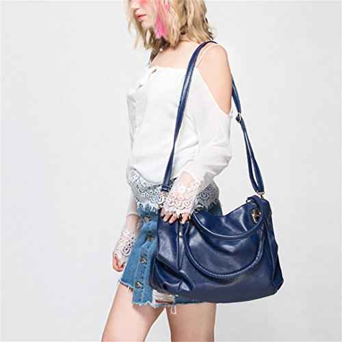 Office Totes Handbag Portable Hobos Women Ladies Bag Handbags Ladies PU Bag Leather Female Pink Bags Shoulder vdwp6qd