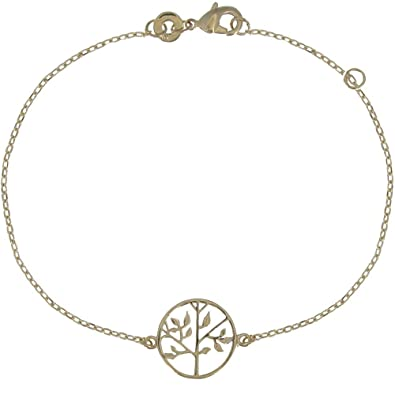 Schmuck Les Poulettes - Armband Tree of Life vergoldete  Stephanie ... 53e779ffbb
