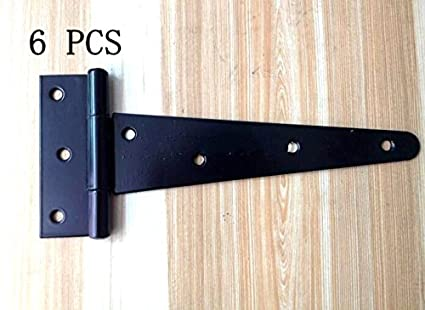Superieur Wang Data 6PCS T Strap 7.4u0026quot; Heavy Duty Shed Hinge Gate Decorative Strap