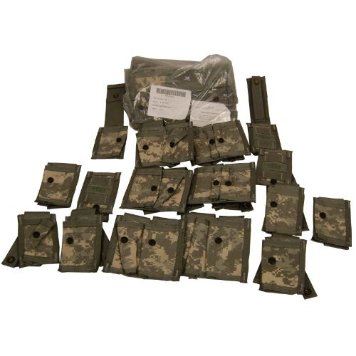 Molle 40mm Grenade - MOLLE Grenadier Pouch Set ACU Digital New