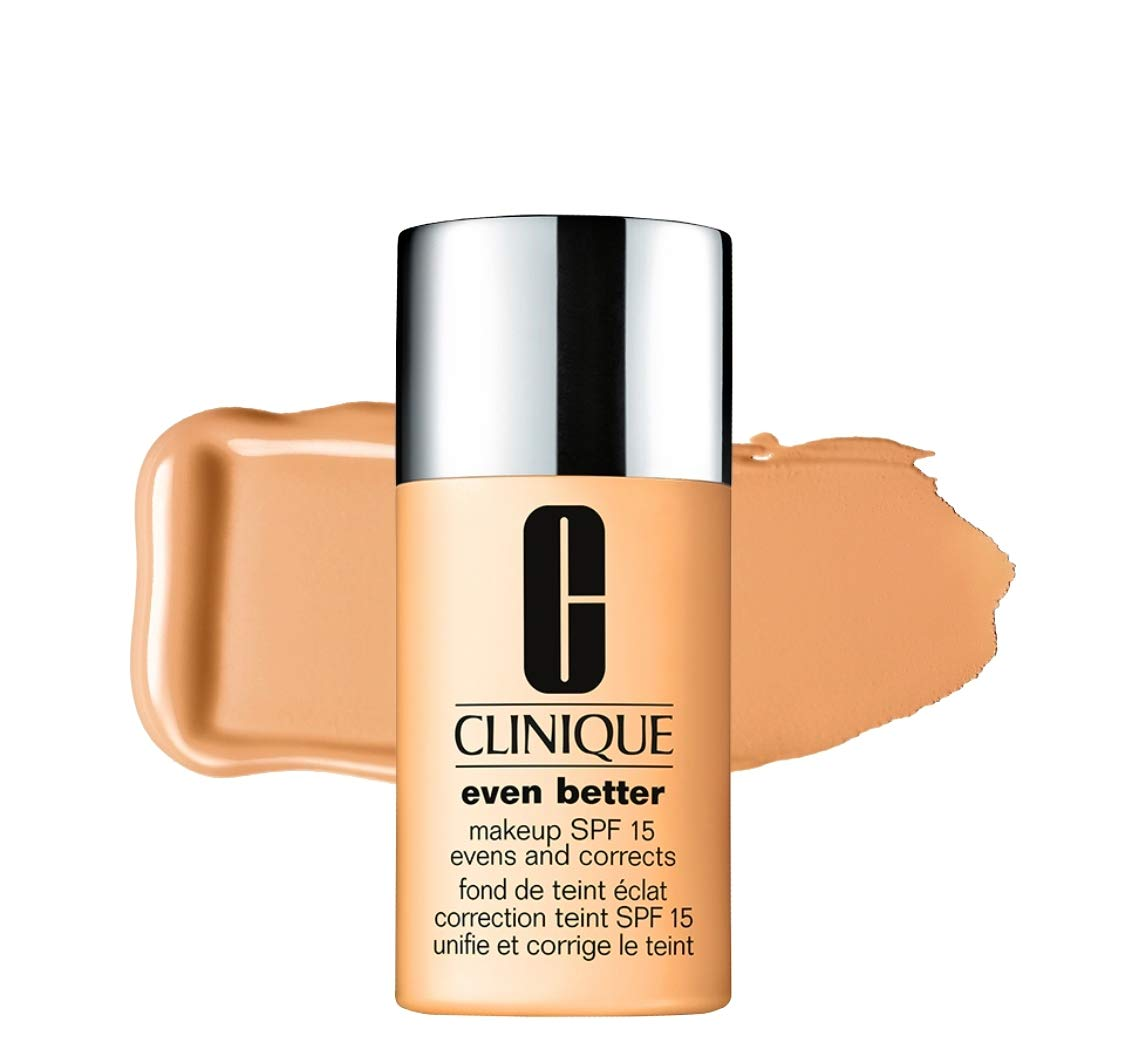 Clinique Even Better Makeup Broad Spectrum SPF 15 Evens And Corrects WN 69 Cardamom 1 Oz