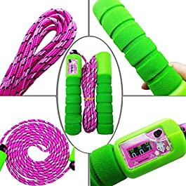Koolbitz Automatic Counting Skipping Rope, Adjustable Professional Counting Skipping Rope Automatic Counting Jump Rope…