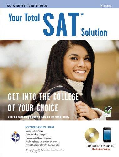 SAT® w/CD: Your Total Solution (SAT PSAT ACT (College Admission) Prep)