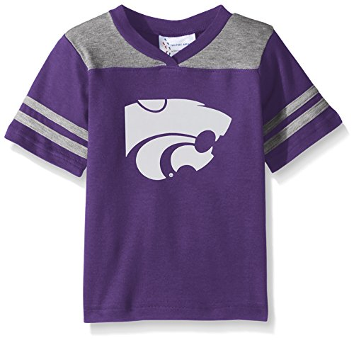 NCAA Kansas State Wildcats Toddler Boys Football Shirt, Purple, (Kansas State Football Jersey)