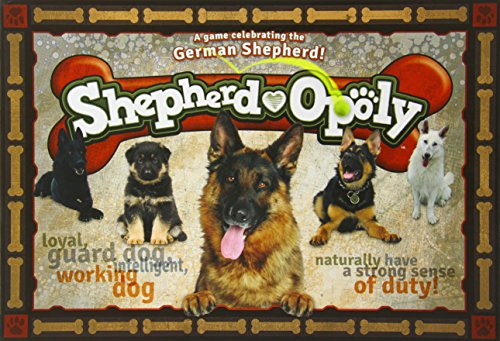 Late for the Sky German Shepherd-opoly (Dog Monopoly Board Game)