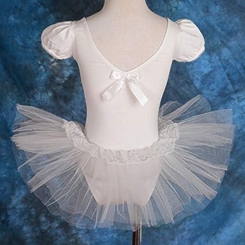 Lito Angels Girls Ballet Tutu Ballerina Dance Costume Dancewear Leotard Skirted Dress Fairy Dress Up Costume