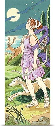 Encyclopaedia Britannica Poster Print entitled Artemis (Greek), Diana (Roman), mythology