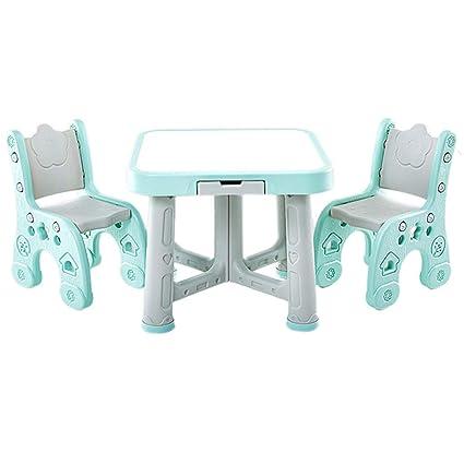 Juegos de mesas y sillas Mesa para Niños Jardín De Infantes ...