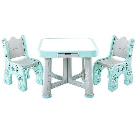 Juegos de mesas y sillas Mesa para Niños Jardín De Infantes 1 Mesa ...