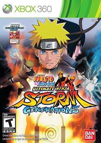 Naruto Shippuden: Ultimate Ninja Storm Generations - Xbox 360 (Limited) (Xbox Naruto Ultimate Ninja Storm)