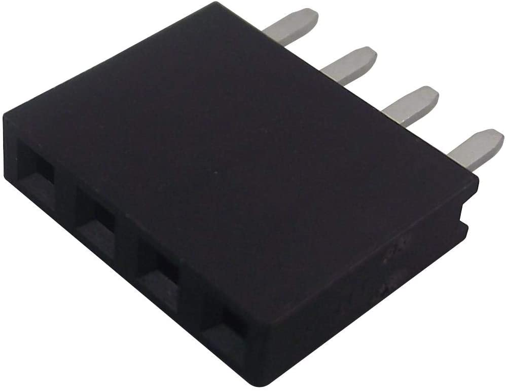 Through Hole 2.54 mm 2212S-04SG-85 Board-To-Board Connector 4 Contacts Receptacle 1 Rows, 2212S Series Pack of 250