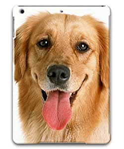 iPad Air 2 case-Polycarbonate Protective Cover for Apple iPad Air 2,6th Generation Latest Model,Golden Retriever