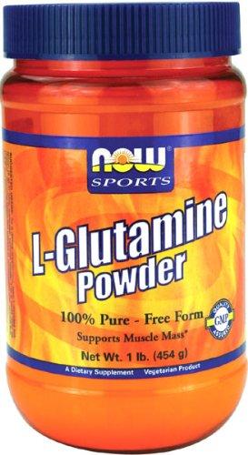 NOW Foods L-Glutamine Powder Pure, 1-Pound