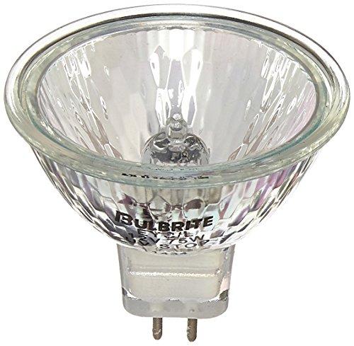 Bulbrite EYC/L 75-Watt 12-Volt Halogen MR16 Bi-Pin Lensed, - 12v Lensed