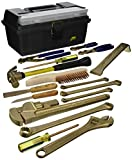 Ampco Safety Tools M-49 Tool Kit, Non-Sparking, Non-Magnetic, Corrosion Resistant