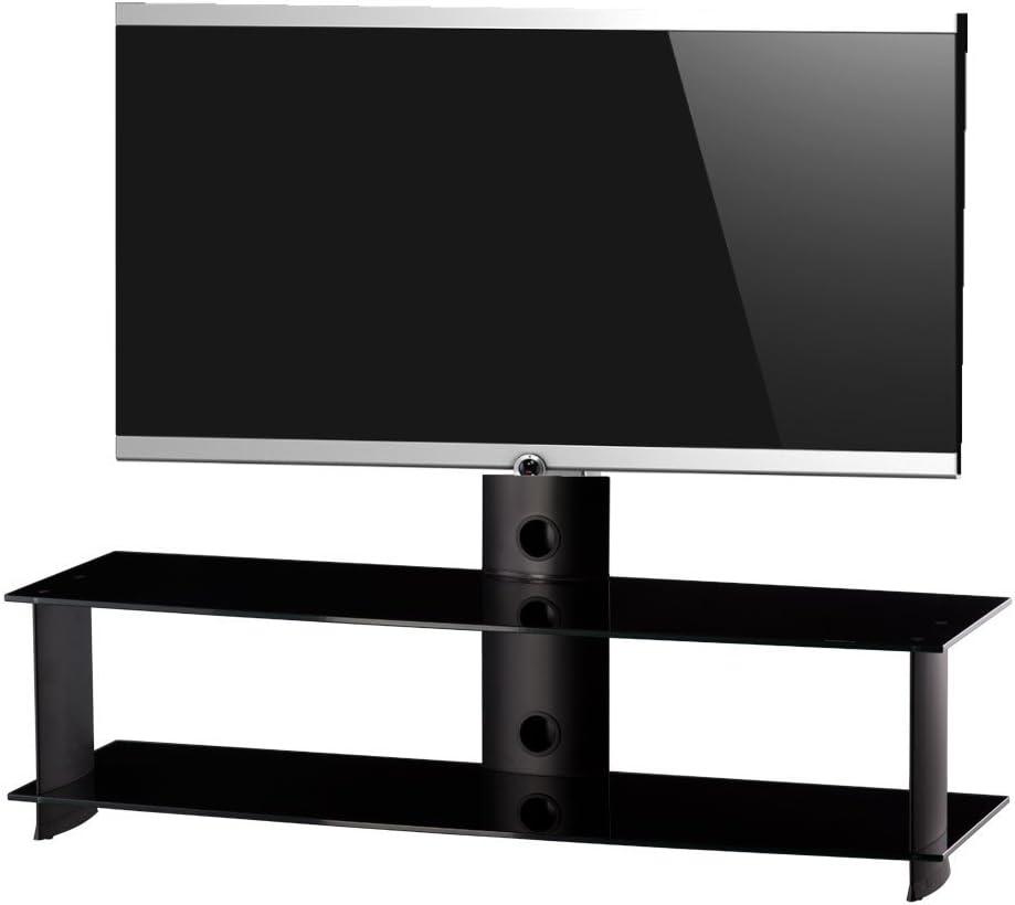 RO&CO - Mueble TV. Ancho 140 cms, 2 estantes y Soporte de TV ...