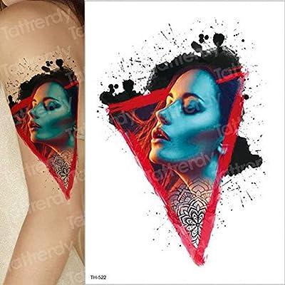 3ps-Skull Rose Tattoo Sticker Brazo Tatuaje Manga Hombres y ...