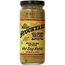 American Stockyard New York Style Hot Dog Relish, 12 Ounce