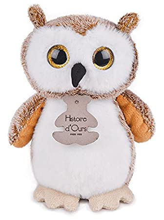 Amazon Com Histoire D Ours Small 7 Inch Plush Wide Eyed Owl